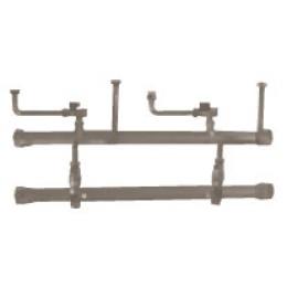 Комплект труб подачи и обратки для двух котлов LUNA Platinum+ в каскаде Baxi (KHG71411711)